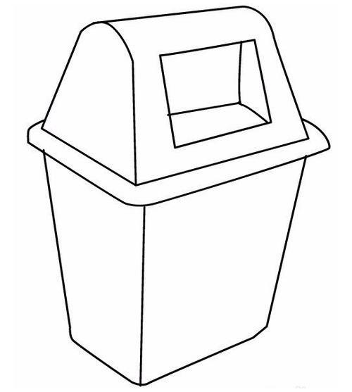 垃圾桶怎么画?跟厂家学快速草图